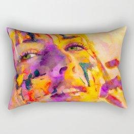 Rainbow Girl 03 Rectangular Pillow