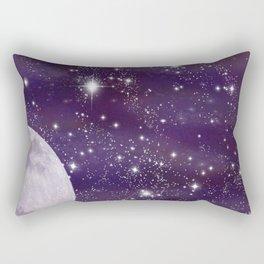 Cosmic Moon  Rectangular Pillow