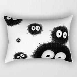 Susuwatari 2 Rectangular Pillow