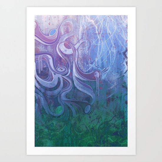 Electric Dreams II Art Print