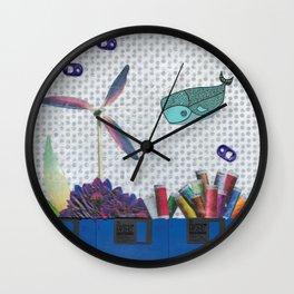 Skipping School Wall Clock