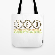 360 Olympic Peninsula Tote Bag