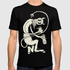 The Devil Black Mens Fitted Tee LARGE
