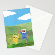 Finn And Jake! Stationery Cards