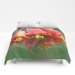 Red bells Comforters