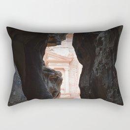 Treasury, Petra Rectangular Pillow