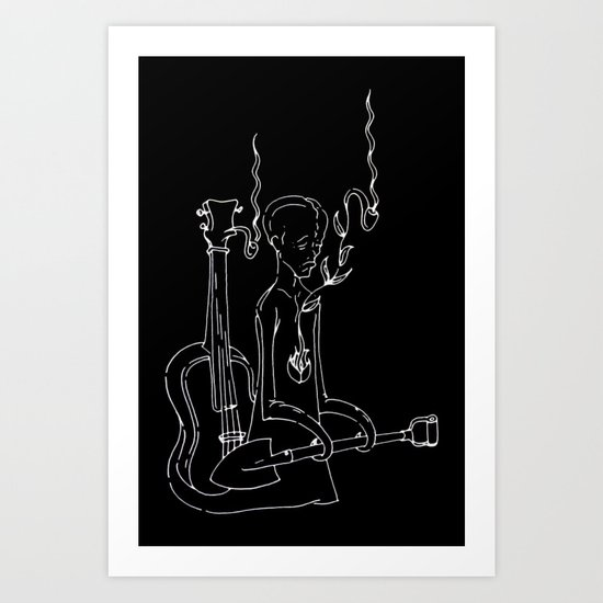 Resting Place - Digital Variant Art Print