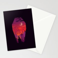 To The Grave Stationery Cards