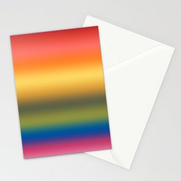 Rainbow 2019 Gradient Stationery Cards
