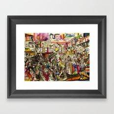 Coogi Sweater Party Framed Art Print