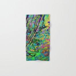 Mardi Gras Marble Hand & Bath Towel