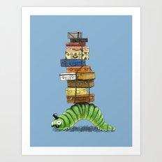 Monsieur Caterpillar Art Print
