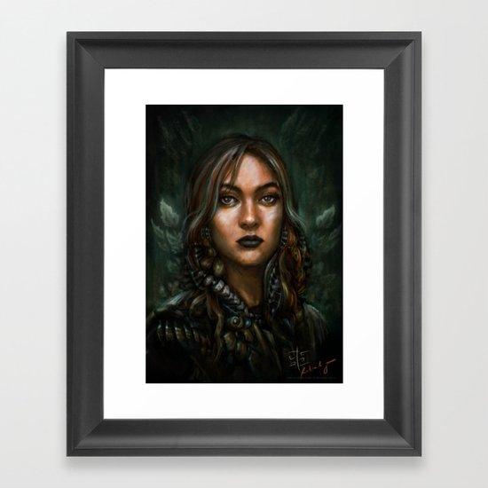 Viktoria Framed Art Print