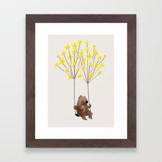 Stars Swing Framed Art Print