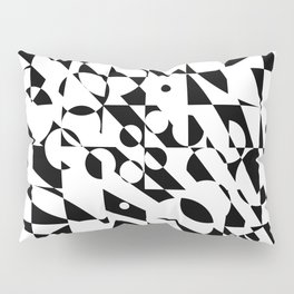 Fractured Structure Pillow Sham