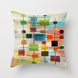 MidMod Graffiti 4.0 Throw Pillow