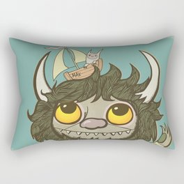 An Ode To Wild Things Rectangular Pillow