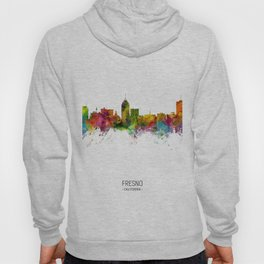 Fresno California Skyline Hoody