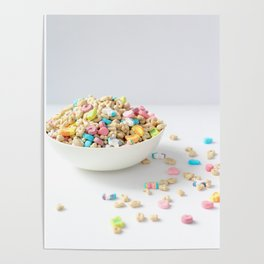 Bowl of Lucky Charms Poster