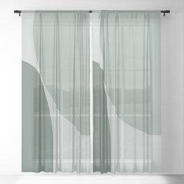 Minimal Poetry 03 Sheer Curtain