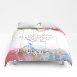 Confidently Trust- Psalm 112:7  Comforters