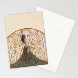 Ornate Art Deco Stationery Cards