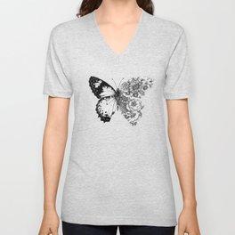 Butterfly in Bloom Unisex V-Neck