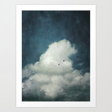 the Cloud Art Print