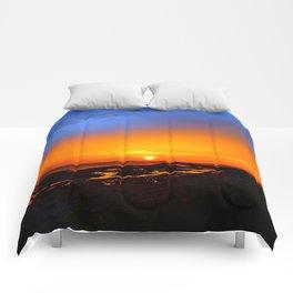 Sunrise on the Beach Comforters