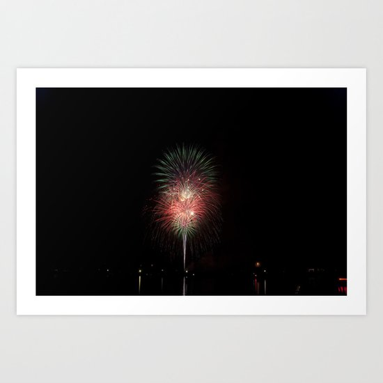 Fireworks make you wanna... (2) Art Print