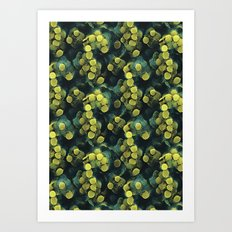 just some bacteria ( can't be touched!) Art Print