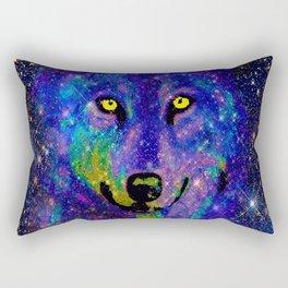CELESTIAL WOLF Rectangular Pillow