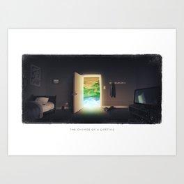 The Chance of a Lifetime Art Print