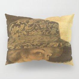 Golden victorian lady Pillow Sham