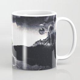 The Landing A Zebes Surrealism Coffee Mug