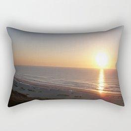 Sunrise on the Atlantic coast Rectangular Pillow