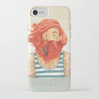 beach iPhone & iPod Cases featuring Octopus by Seaside Spirit