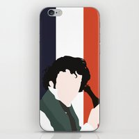 grantaire iPhone & iPod Skins featuring GRANTAIRE – LES MISÉRABLES by K. Frank