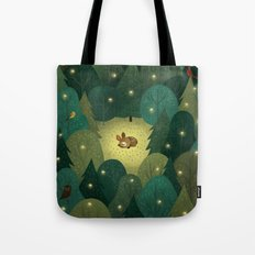 Enchanted Forest Baby Tote Bag
