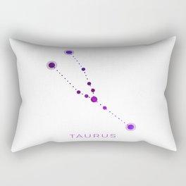 TAURUS STAR CONSTELLATION ZODIAC SIGN Rectangular Pillow