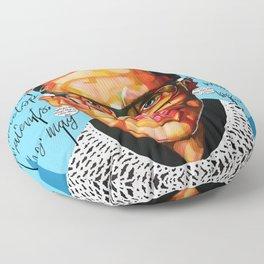 Ruth Ginsburg Floor Pillow