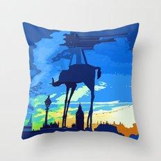 Salvador's Elephant Throw Pillow