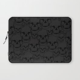 Dark Skulls Laptop Sleeve