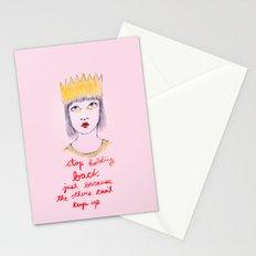 Stop holding back Stationery Cards
