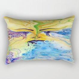sensory vomit Rectangular Pillow