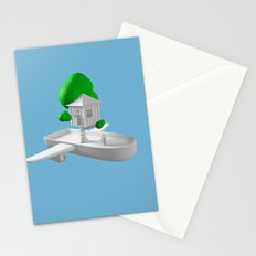 Tree House Boat Stationery Cards