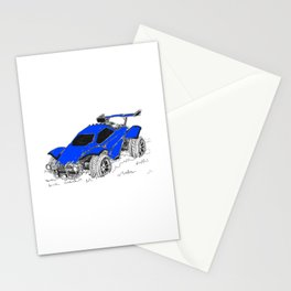 Rocket League Stationery Cards