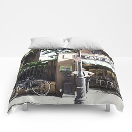 New Orleans Cafe Beignet Comforters