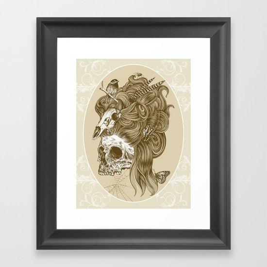 Formal portrait Framed Art Print