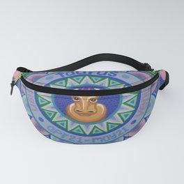 Taurus Mandala Fanny Pack